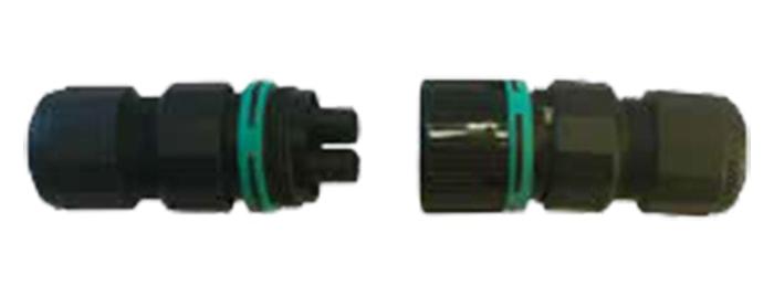 Steckverbindung für Reihenmontage Type AC 169 kompakt